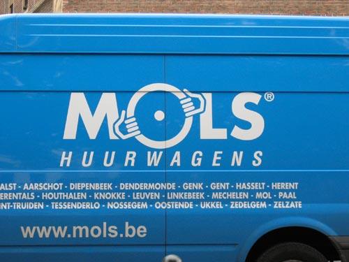 MOLS Huurwagens